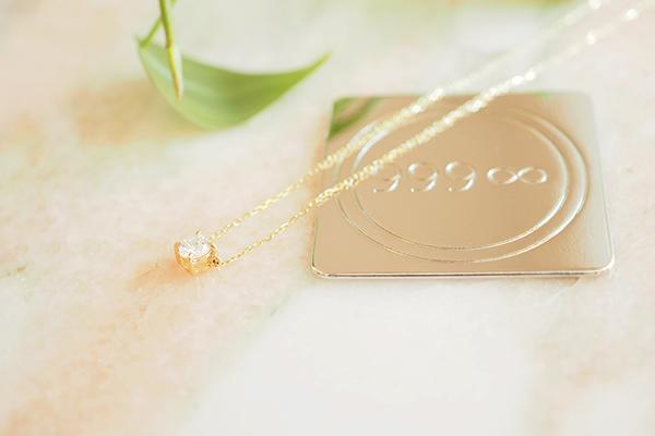 「飛翔」ダイヤモンド ネックレス